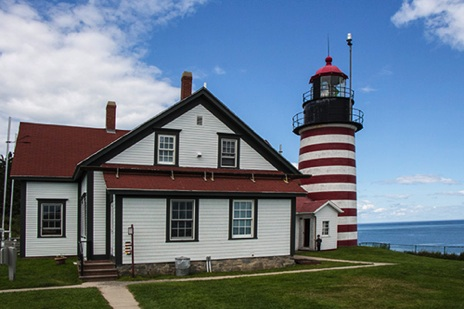 West Quoddy Head Lighthouse - JHP126