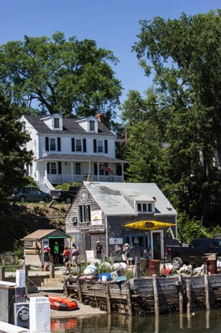 The Boathouse at Castine Harbor - NHP85