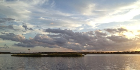 Sunset on the Lynnhaven - NHP101