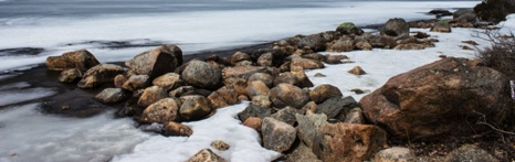 Winter Rocks  - NHP127